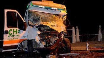 Dos personas murieron en un violento choque en la Ruta 22