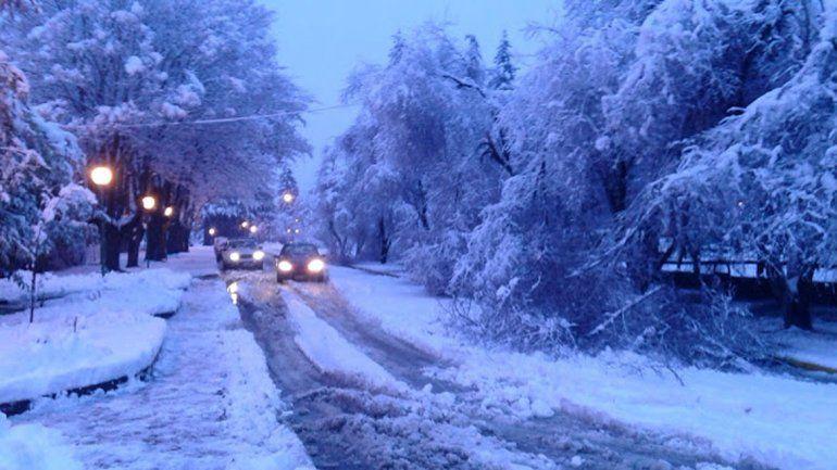 Resultado de imagen para temporal de nieve en el bolson