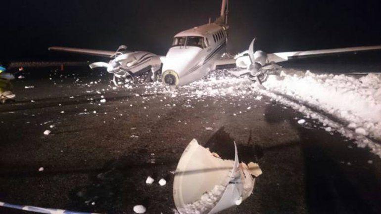 Susto: un avión que despegó de Neuquén se despistó cuando intentaba aterrizar en Bariloche