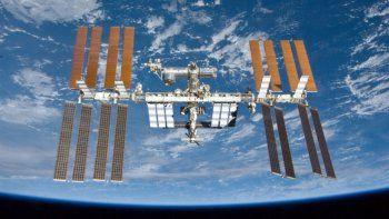 La Estación Espacial se pudo ver esta noche desde el Valle