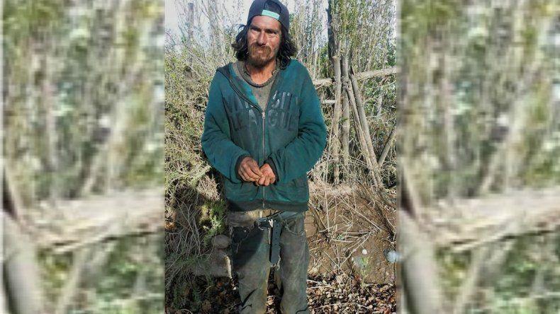 Estuvo 2 meses desaparecido y lo encontraron deambulando en las chacras