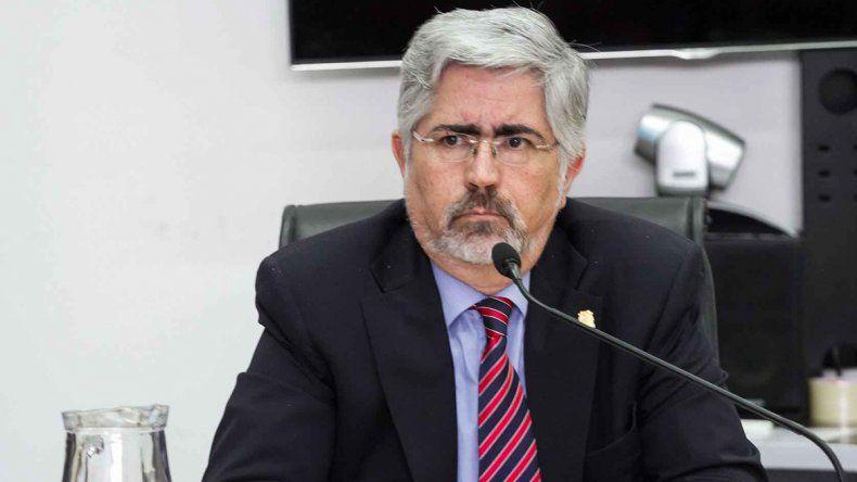 El juez Álvaro Meynet presidió la audiencia de control de acusación.