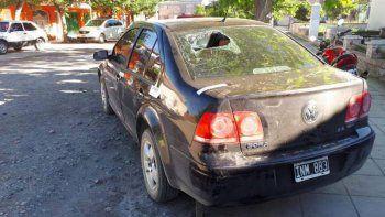 Guerra narco: balearon tres casas con una ametralladora