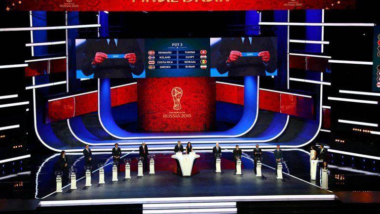 Rusia 2018: Argentina jugará contra Islandia, Croacia y Nigeria