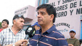 López anunciará mañana su renuncia al sindicato de la Fruta