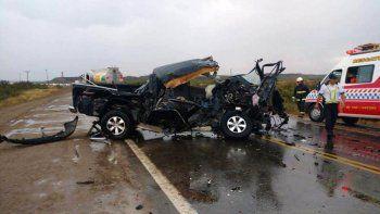 hombre murio al chocar de frente contra un camion de combustible