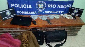 pareja de adolescentes se robo 7 mil dolares y fueron atrapados