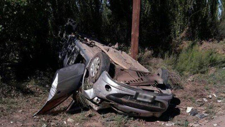 Cipolletti: una mujer de Cutral Co murió en un vuelco sobre la Ruta Chica