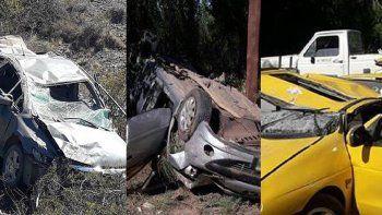 Tres muertos por accidentes en las rutas de la región