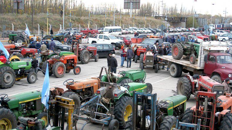 Los chacareros piden compensar los gastos de la temporada de cosecha.