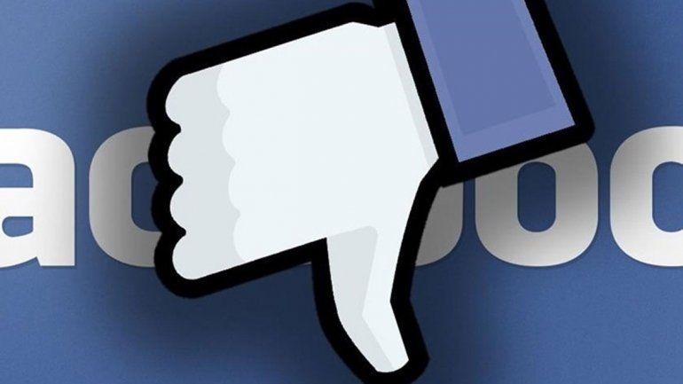 En América del Norte hubo un millón de usuarios menos en la red social.