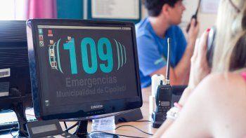 La tensión en la central de emergencias 109 se respira en el aire.