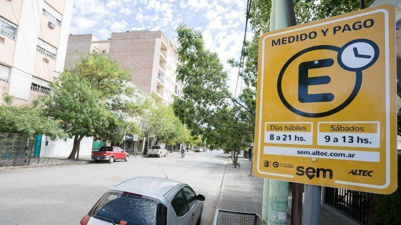 El próximo lunes no habrá estacionamiento medido en la ciudad