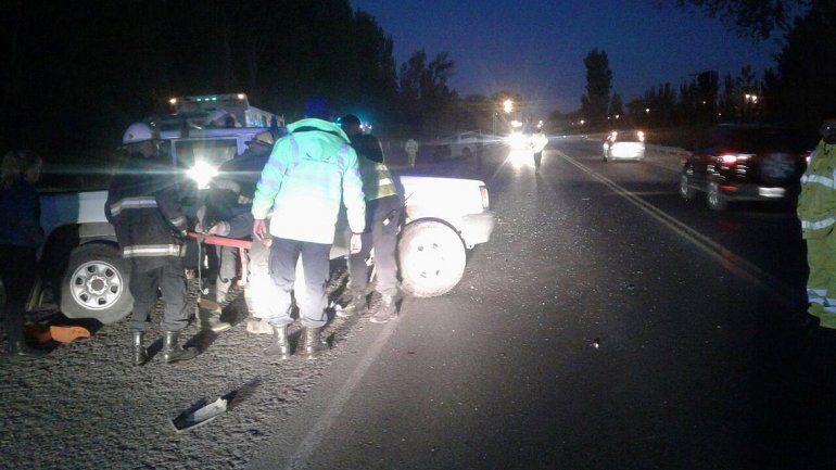 Borracho casi provoca una tragedia en la Ruta 22