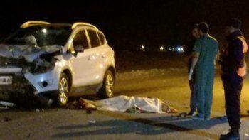 motociclista murio al chocar contra una camioneta en la ruta 151
