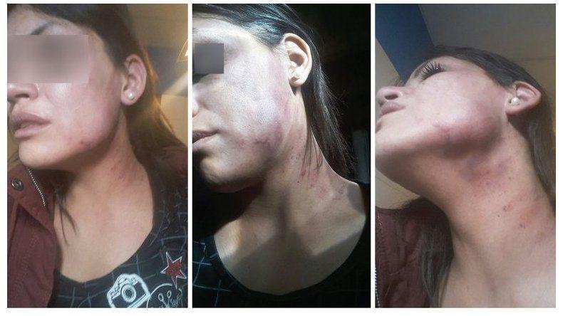 Dramático video de una mujer brutalmente golpeada por su pareja