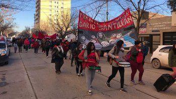 organizaciones marchan al municipio para pedir comida