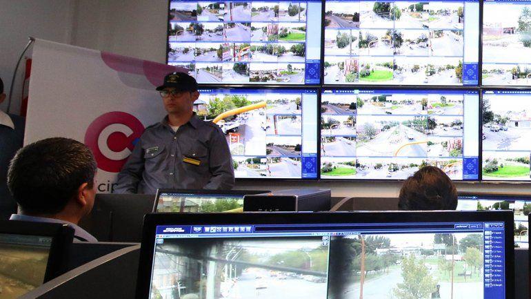 En la ciudad hay centros de monitoreo de la Policía y el Municipio.