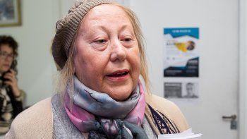 La legisladora Marta Milesi impulsó la ley provincial de aborto no punible.