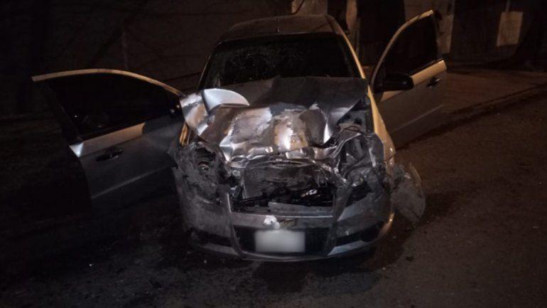 Un joven de 25 años murió en un violento choque en Cipolletti