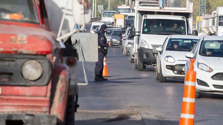 El choque que motivó la demanda fue en el puente entre Cipolletti y Neuquén.