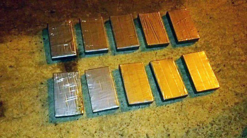 Secuestran 10 kilos de cocaína que iban hacia Bariloche