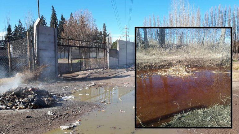 Resurgieron las quejas por la contaminación del Canal de los Milicos