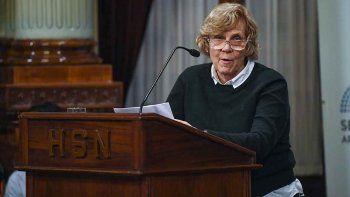 Luchetti expuso a favor del aborto legal en Diputados y el Senado.