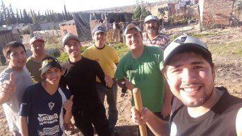 La Policía de Río Negro destacó la labor solidaria de Julián Rivero.