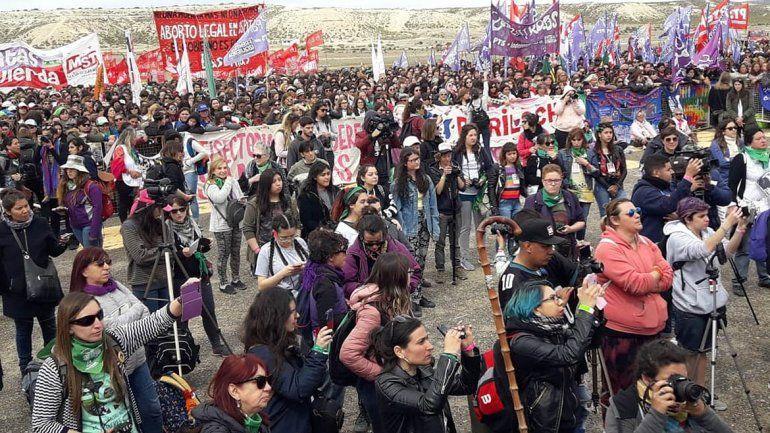 Arrancó en Trelew el Encuentro Nacional de Mujeres, la fiesta feminista más grande del mundo