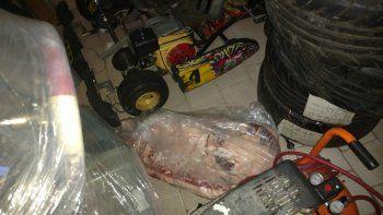 clausuran carniceria por vender asado de contrabando