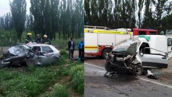 murio un hombre en un violento accidente en ruta 22