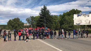 se levanto el corte: organizaciones reclamaron en los puentes