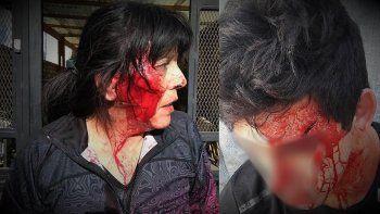 el video de la brutal agresion de una familia de boxeadores