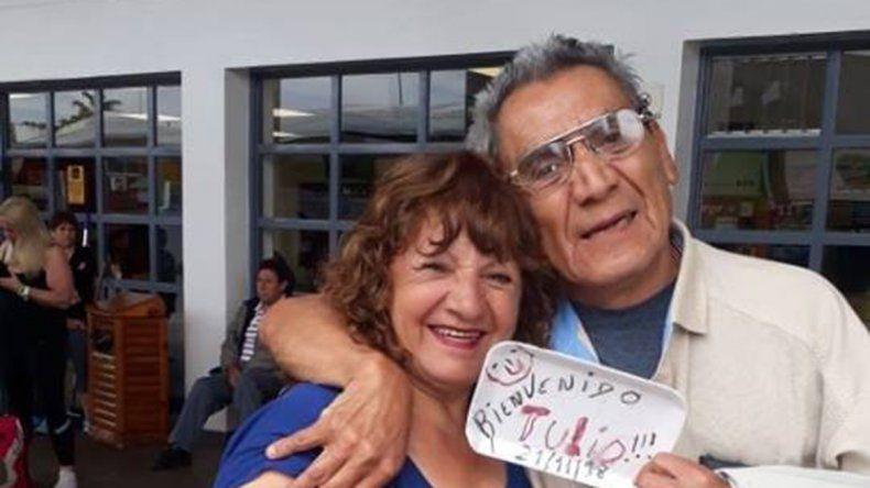 Dos hermanos cipoleños se reencontraron tras estar 60 años separados