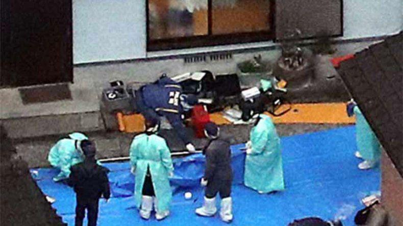 Japonés se volvió loco y masacró a toda su familia