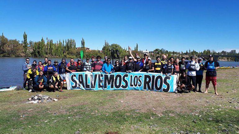 Remarán 550 kilómetros para salvar a los ríos del Alto Valle