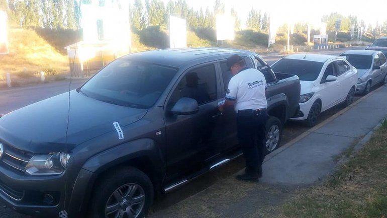 Hijo de jefa narco intentó evadir un control y casi atropelló a un policía de tránsito