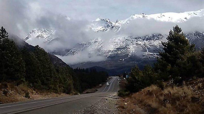 Insólito: nevó en Bariloche en pleno verano