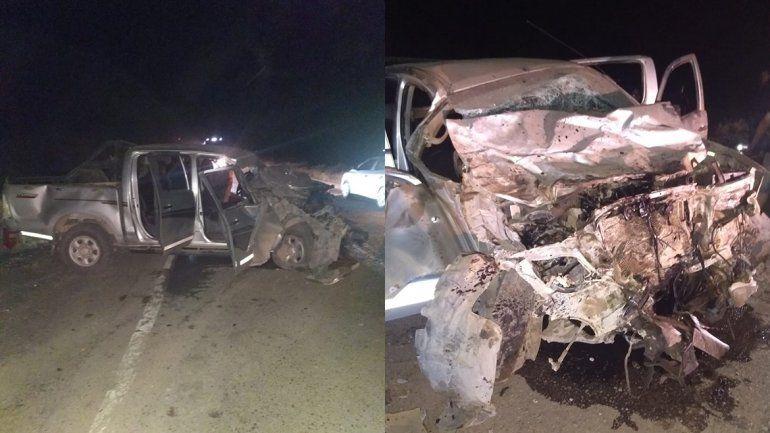 Tragedia sobre la Ruta 151: un vecino de Plottier murió en un violento choque frontal
