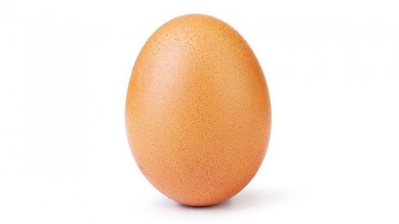 Insólito: la foto de un huevo rompió el récord de me gusta en Instagram