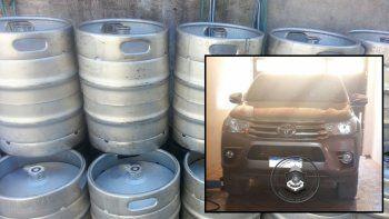 detuvieron a neuquino que robo 16 barriles de cerveza artesanal valuados en $90 mil
