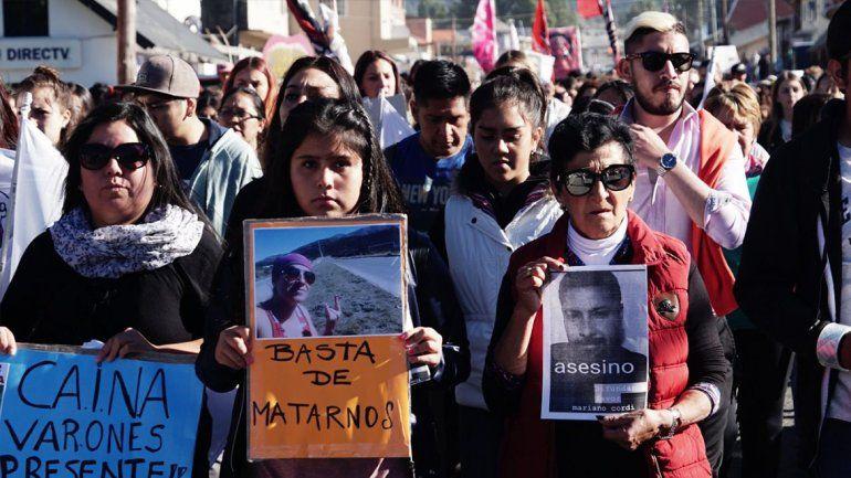 Una multitud marchó para pedir justicia por Valeria Coppa