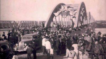 se cumplen 82 anos de la inauguracion del puente viejo
