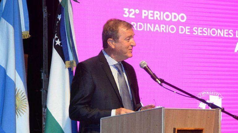 Tortoriello destacó obras y el control del gasto público