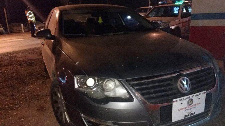 Le secuestraron un auto de alta gama que había sido robado en Santa Fe