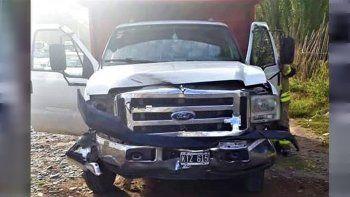 el test de alcoholemia al camionero que choco a pichipil dio negativo