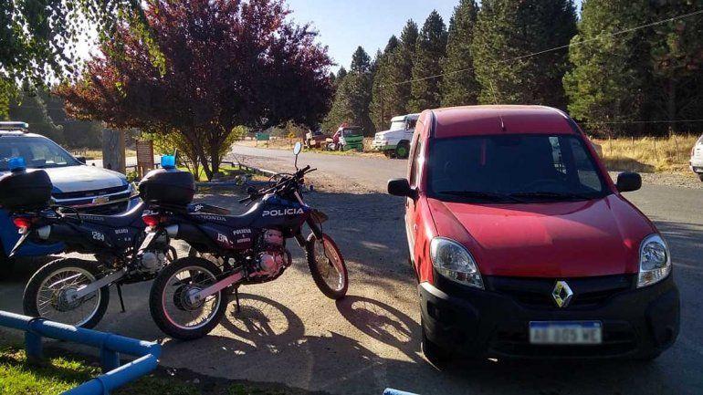 Secuestraron en Junín de los Andes una camioneta robada en Cipolletti