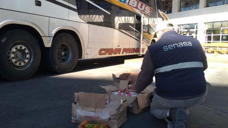 Insólito: envió 90 kilos de salamines en una encomienda que iba a San Martín de los Andes
