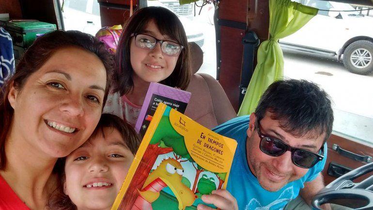 Una aventura familiar de más de 8 mil kilómetros